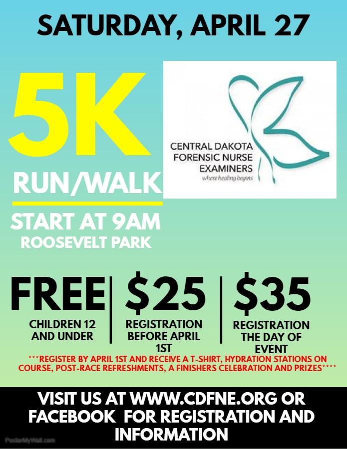 Sexual Assault Awareness & Prevention 5K Walk/Run